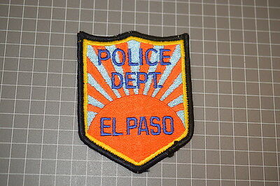 Old El Paso Police Department Texas Patch (B17)
