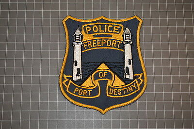 Old Freeport Police Department Texas Patch (B17)