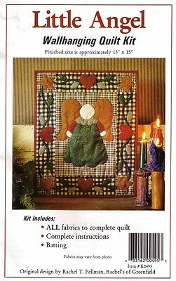 LITTLE ANGEL WALLHANGING QUILT KIT Rachel's of Greenfield QUILTING Patchwork
