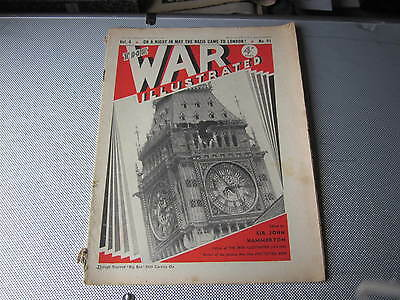May 1941, WAR ILLUSTRATED, 91, David McLean, Marchant Kelsey, Sheila Annesley.