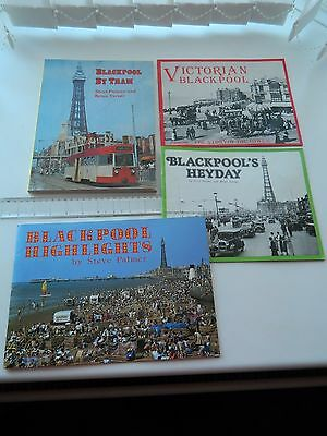 Blackpool by Tram and 3 other Blackpool Books