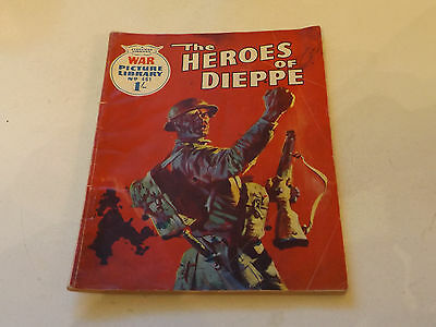 WAR PICTURE LIBRARY NO 461!,dated 1968!,GOOD for age,great 49!YEAR OLD issue.