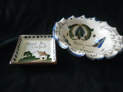 Torquay Ware Bowl And Dish