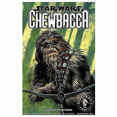 STAR WARS CHEWBACCA Rare Graphic Novel NEW & NEAR MINT CONDITION Paperback 2001