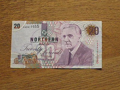 Northern Bank £20 CA3617555 Dated 24th February 1997