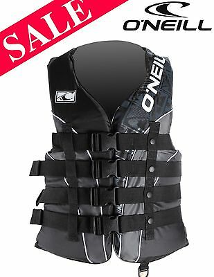 NEW O'Neill Superlite 4 Buckle CE Impact Vest 2XL SAVE 23%