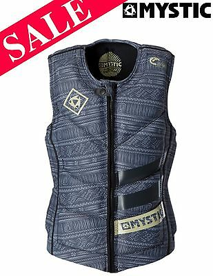 NEW Mystic Home Zip Wakeboard Waterski Impact Vest Small SAVE 28%