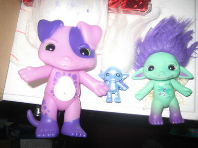 3 x Zelfs / trolls Toys, Collectable Children's Toys
