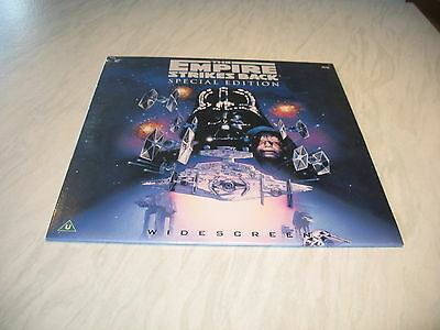 Laserdisc - The Empire Strikes Back Special Edition sealed Star Wars cover dent