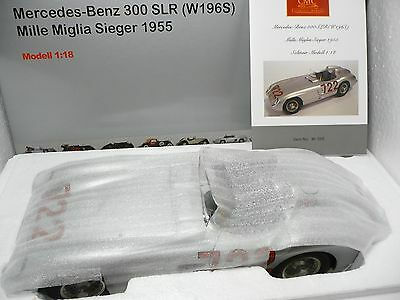 Mercedes-Benz 300 Slr # 722 Moss Winner 1000 Miglia 1955 - Cmc M-066 -1/18 - New