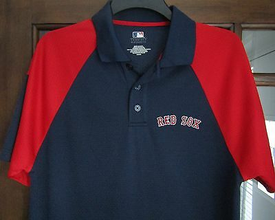 MLB Genuine Merchandise Boston Red Sox casual shirt size on tag Med app 42 in