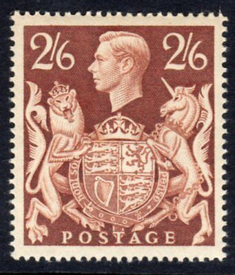 SG476 2/6 Brown UNMOUNTED MINT(538/540)