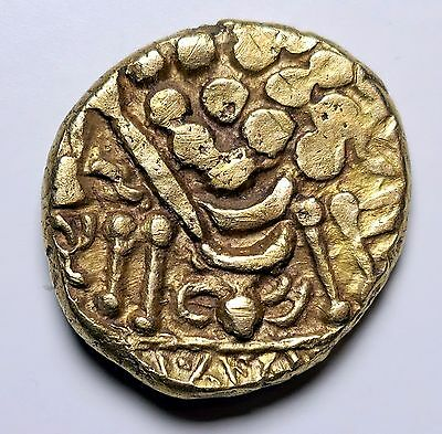 Ancient Britain, Celtic Gold Stater, Durotriges, Uninscribed, c65BC-45AD (Chute)