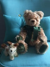 Hermann Max And Foxl Bear In Excellent Condition