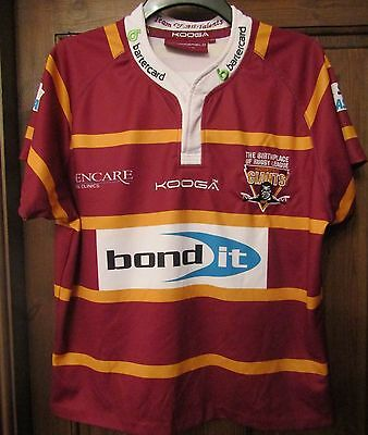 Kooga Huddersfield  Giants Home Shirt 2014 size on tag size Lg 46""
