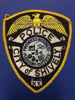 Shively Kentucky Police Shoulder Patch  Used