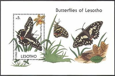 Lesotho 1990 Butterflies/Butterfly/Orchids/Insects/Nature 1v m/s (b4458)