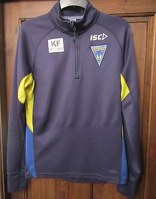 ISC Warrington Wolves Training Top 2012-2013 size on tag medium app 40 chest