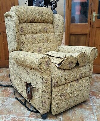 Electric Riser Recliner Chair with full variable massage facility