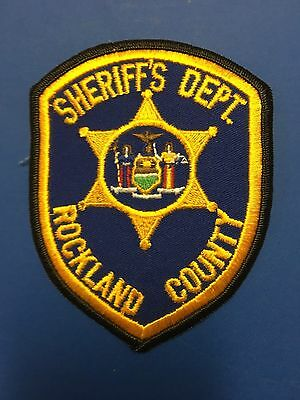 Rockland County New York  Sheriff Shoulder  Patch