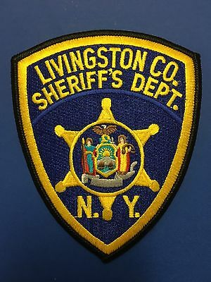 Livingston County  New York  Sheriff  Shoulder Patch