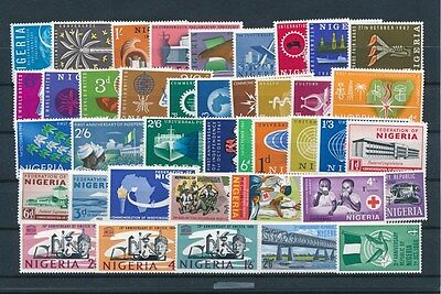 [G73042] Nigeria good lot Very Fine MNH stamps