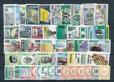 [G73049] Nigeria good lot Very Fine MNH stamps