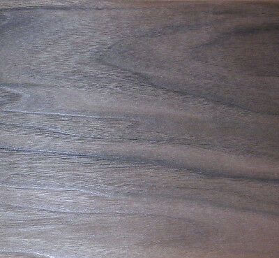 Walnut raw wood veneer, 7.5 x 36 inches. 1/42nd thick                   7726-2