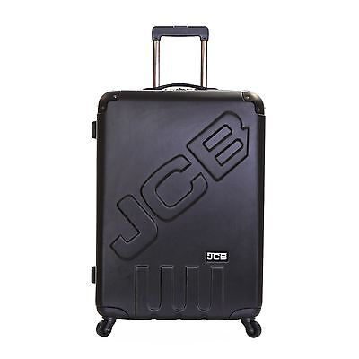 JCB New Extra Large XXL Spinner Wheels Hard Shell Luggage Trolley Suitcase Case