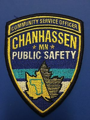 Chanhassen Minnesota  Police Community Service Officer   Shoulder  Patch