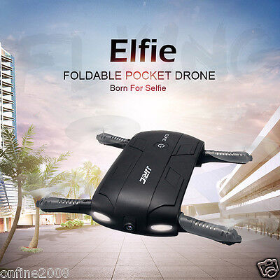 JJRC H37 Altitude Hold w/ HD Camera WIFI FPV RC Quadcopter Drone Selfie Foldable