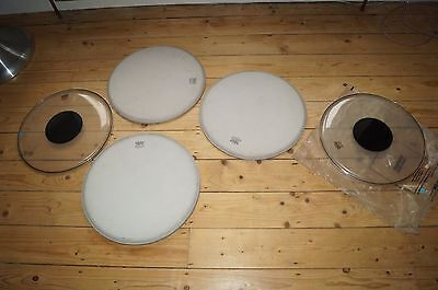 Drum Kit Job Lot  Drum Skins Remo Premier x 7 16 inch
