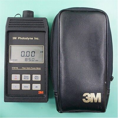3M 17XTA Fiber Optic Power Meter