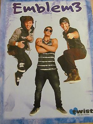 Emblem 3, Full Page Pinup