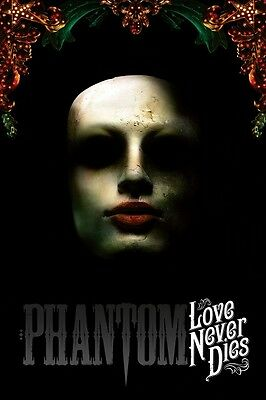 Love Never Dies poster - The Phantom of The Opera poster - 11 x 17 inches