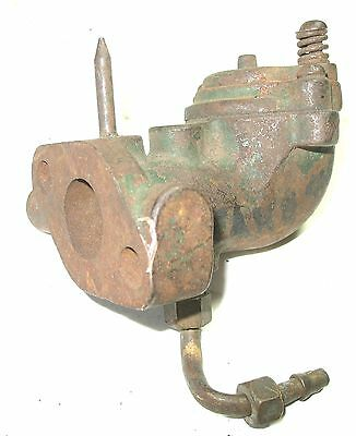 Stover Model K Mixer Flywheel Gas Engine Tractor Steam