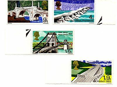 British Bridges stamps