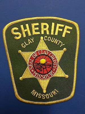 Clay County Missouri Sheriff  Shoulder  Patch