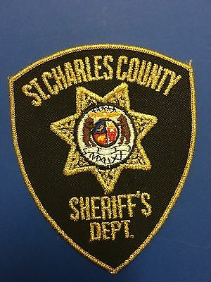 St Charles  County Missouri Sheriff  Shoulder  Patch