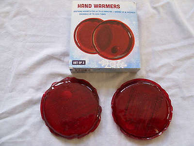 Hand Warmers - (Set Of 2) - Soothing Warmth - Unused Gift