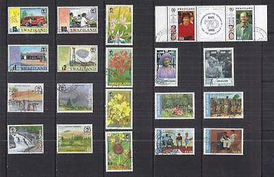 y532 Swaziland / A Small Collection Early Issues Used