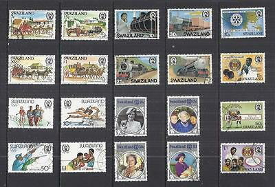 y536 Swaziland / A Small Collection Early Issues Used