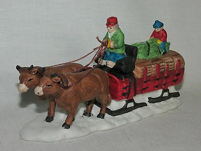 Dept 56 Heritage Village Series ACCESSORIES - OX SLED  # 5951-0