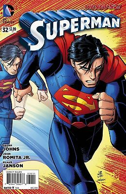 Superman #32 (NM)`14 Johns/ Romita Jr