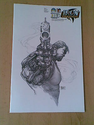 Iron And The Maiden # 2C Michael Turner Retailer Incentive Sketch UNREAD Aspen