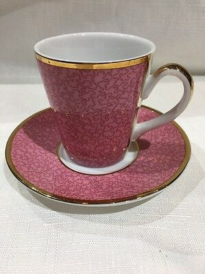 Royal Worcester Cup & Saucer 2006 To Celebrate Queens 80th Birthday