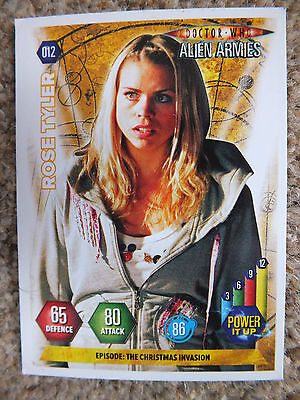 Panini - Doctor Who Alien Armies TCG CCG - Children of Time #012 - Rose Tyler