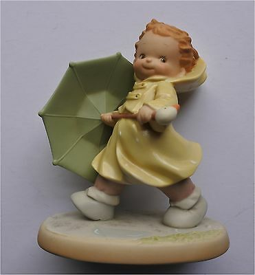 "Enesco Memories Of Yesterday ""you're My Sunshine On A Rainy Day"""
