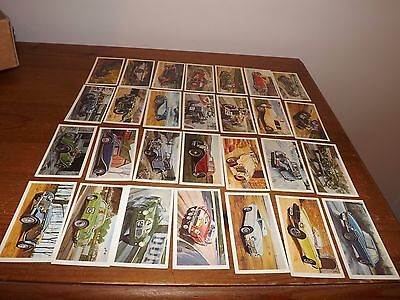 Players Grandee Famous Mg Marques Full Set Of 28 Cards