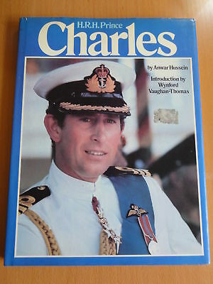 HRH Prince Charles book by Anwar Hussein